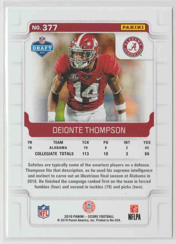 sale retailer 1b3ae 59abb 2019 Score Deionte Thompson #377 on Kronozio