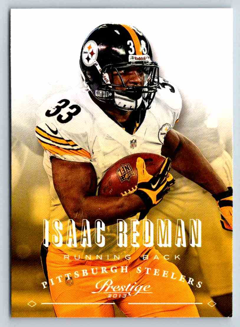 2013 Prestige Isaac Redman #155 card front image