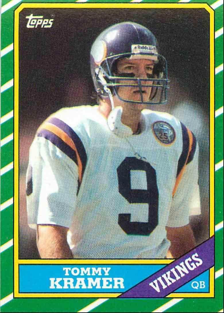 premium selection e943f 26585 Details about Rare Tommy Kramer jersey Minnesota Vikings large vintage 25th  anniversary season