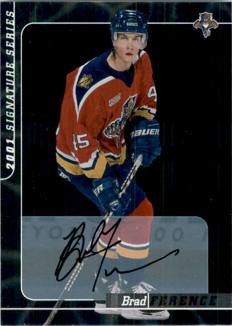 2000-01 Bap Signature Series Autographs Brad Ference #223 card front image