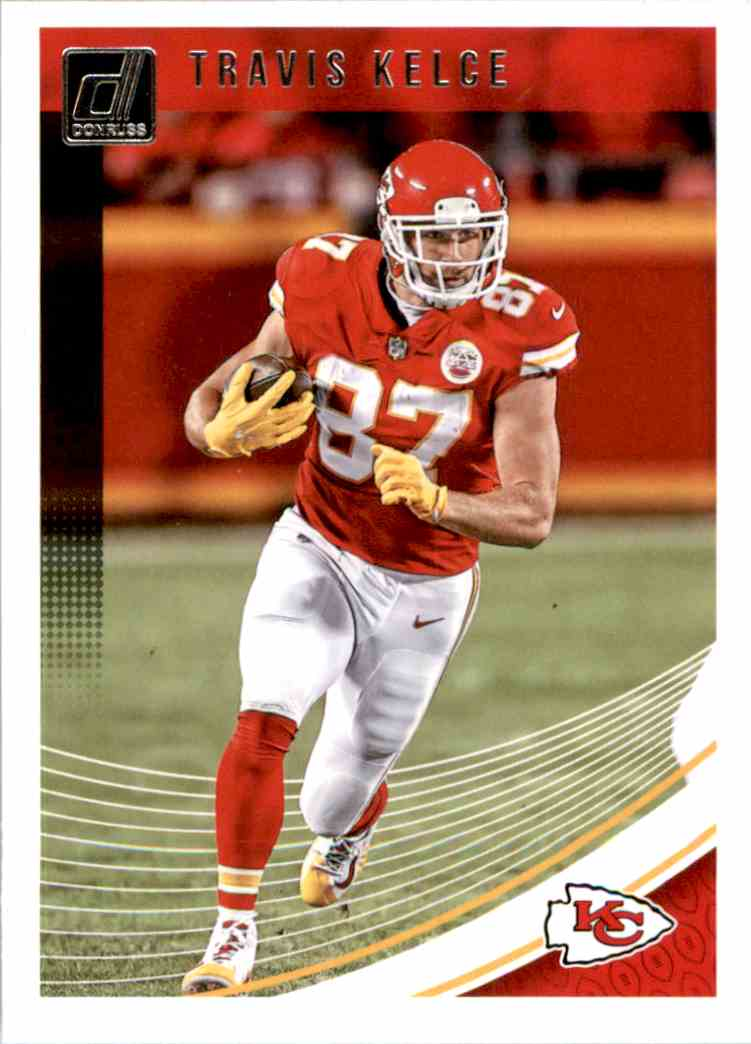2018 Donruss Travis Kelce #141 card front image