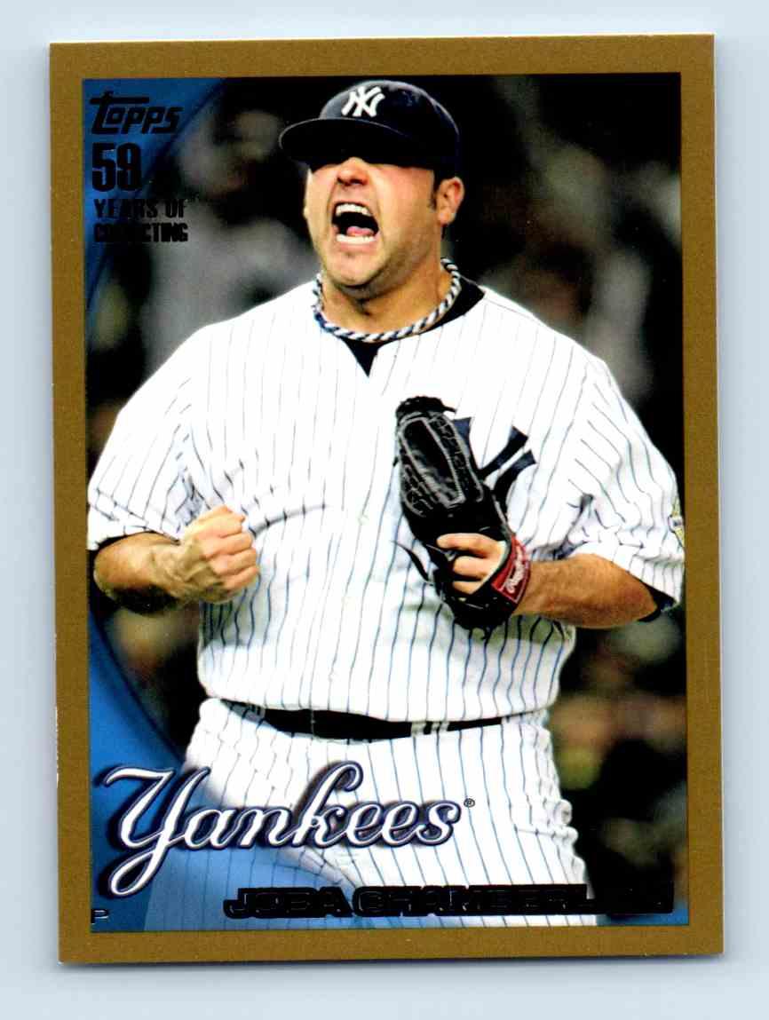 2010 Topps Gold Border Joba Chamberlain #363 card front image
