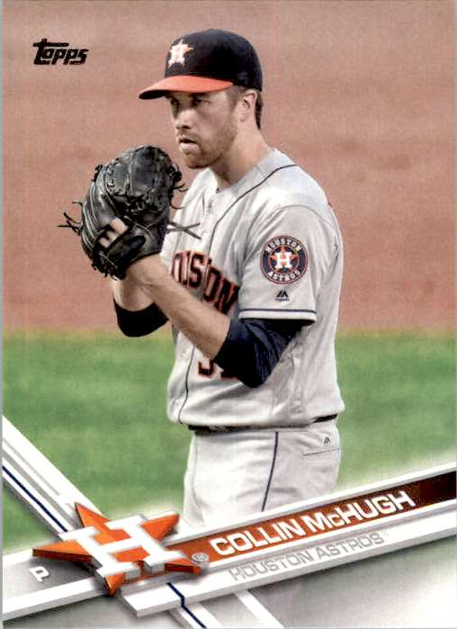 2017 Topps Series 2 Collin McHugh #585 card front image