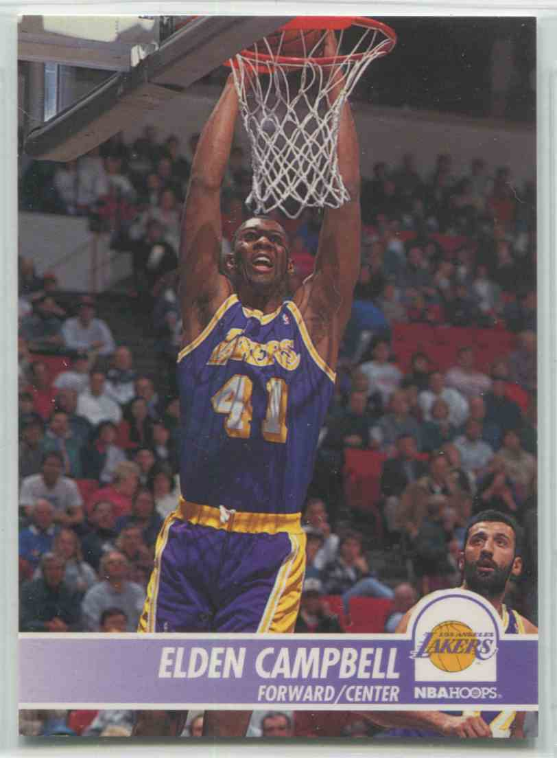 1994 95 NBA Hoops Elden Campbell 98 on Kronozio