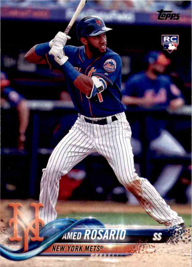 2018 Topps Series One Amed Rosario #63 card front image