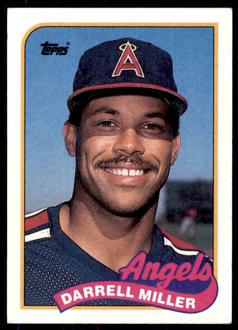 1989 Topps Baseball Darrell Miller 68 On Kronozio