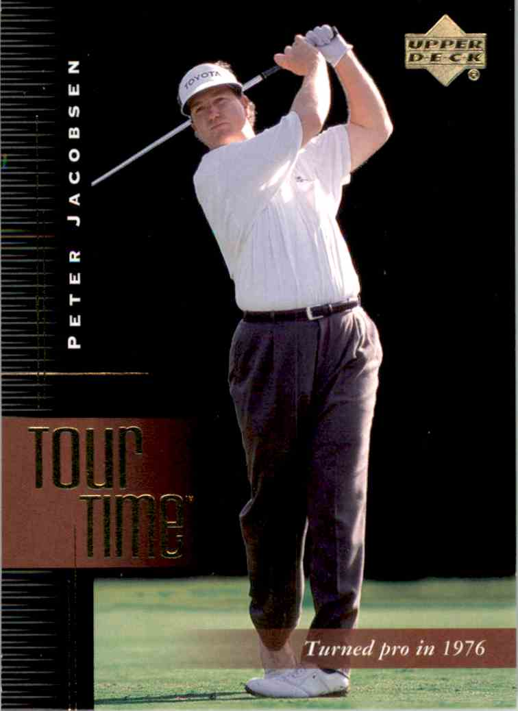 2001 Upper Deck Peter Jacobsen Tt #182 card front image