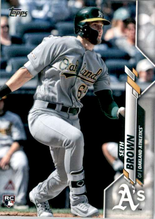 2020 Topps Seth Brown #123 card front image