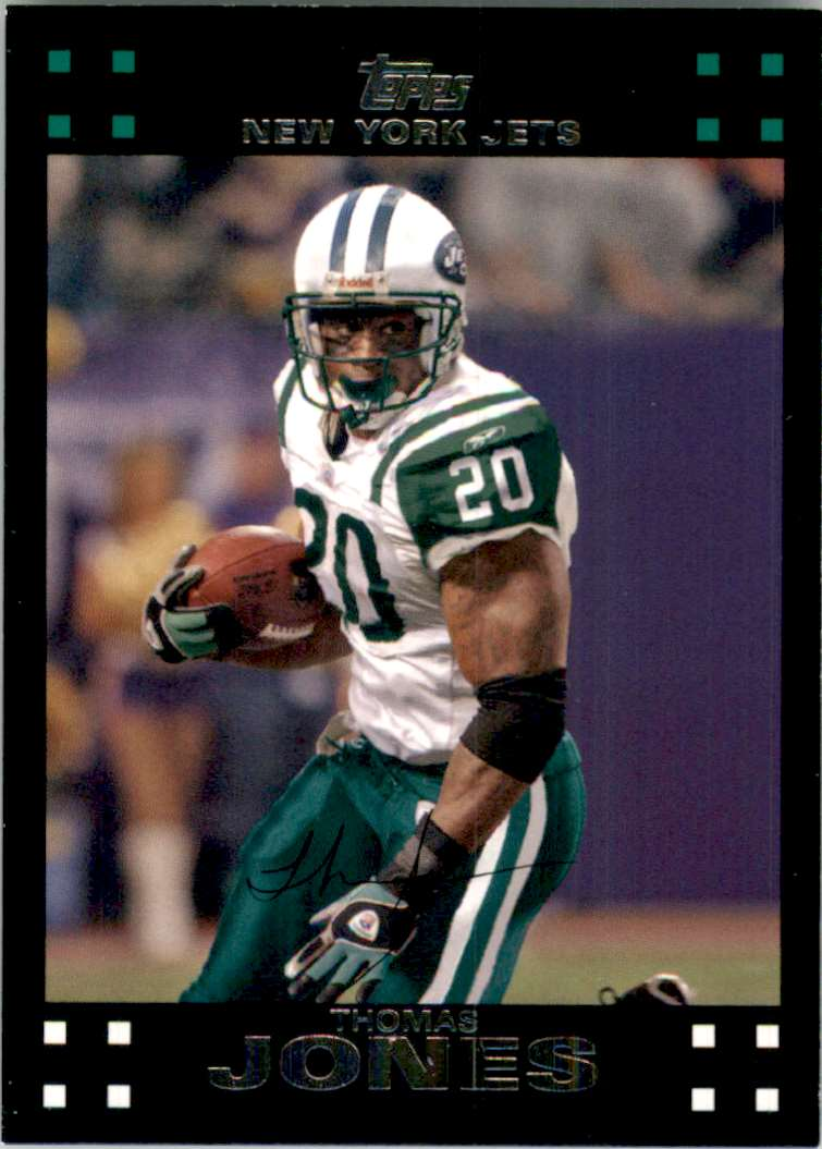 2007 Topps Thomas Jones #58 card front image