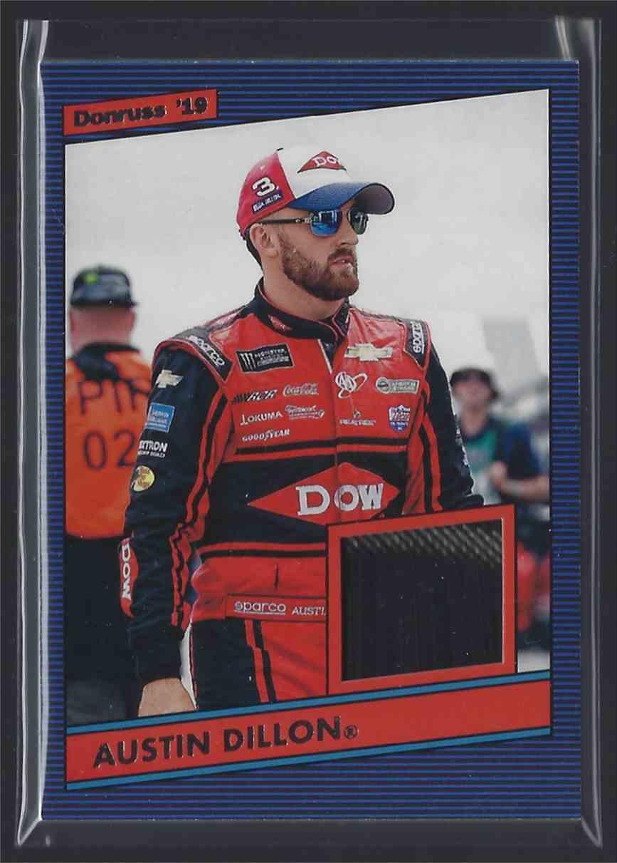 2019 Donruss Retro Relics '86 Austin Dillon #86AD card front image