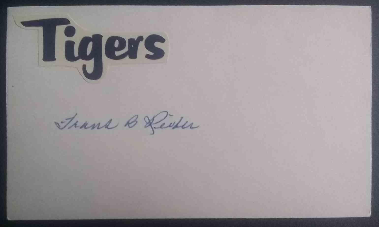 1934 3X5 Frank Reiber card back image