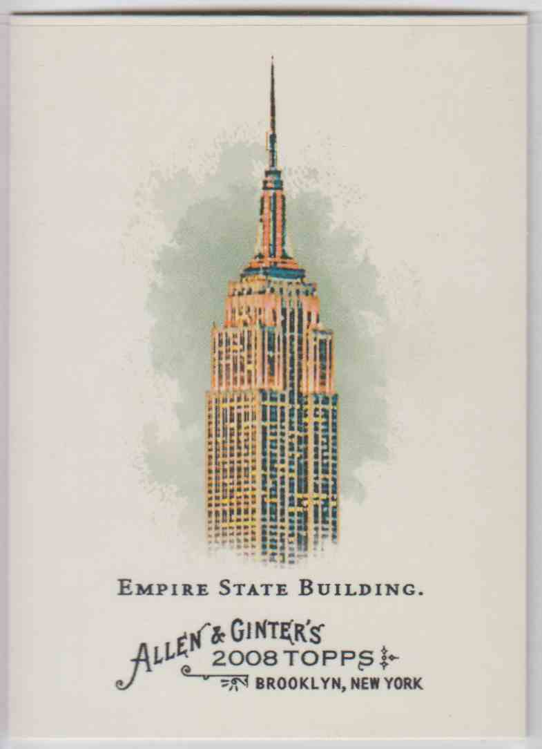2008 Topps Allen And Ginter Empire State Building #29 card front image