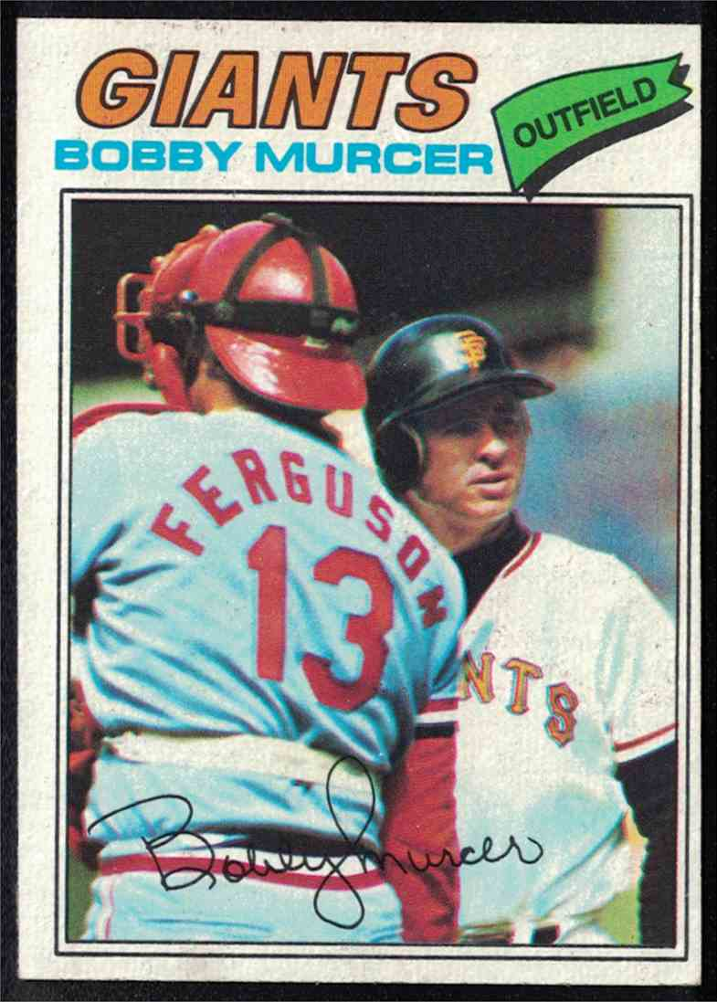 1977 Topps Bobby Murcer EX-MT #40 card front image