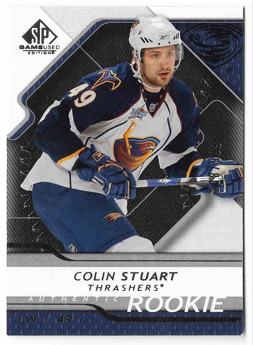 2008-09 SP Game Used Colin Stuart #115 card front image