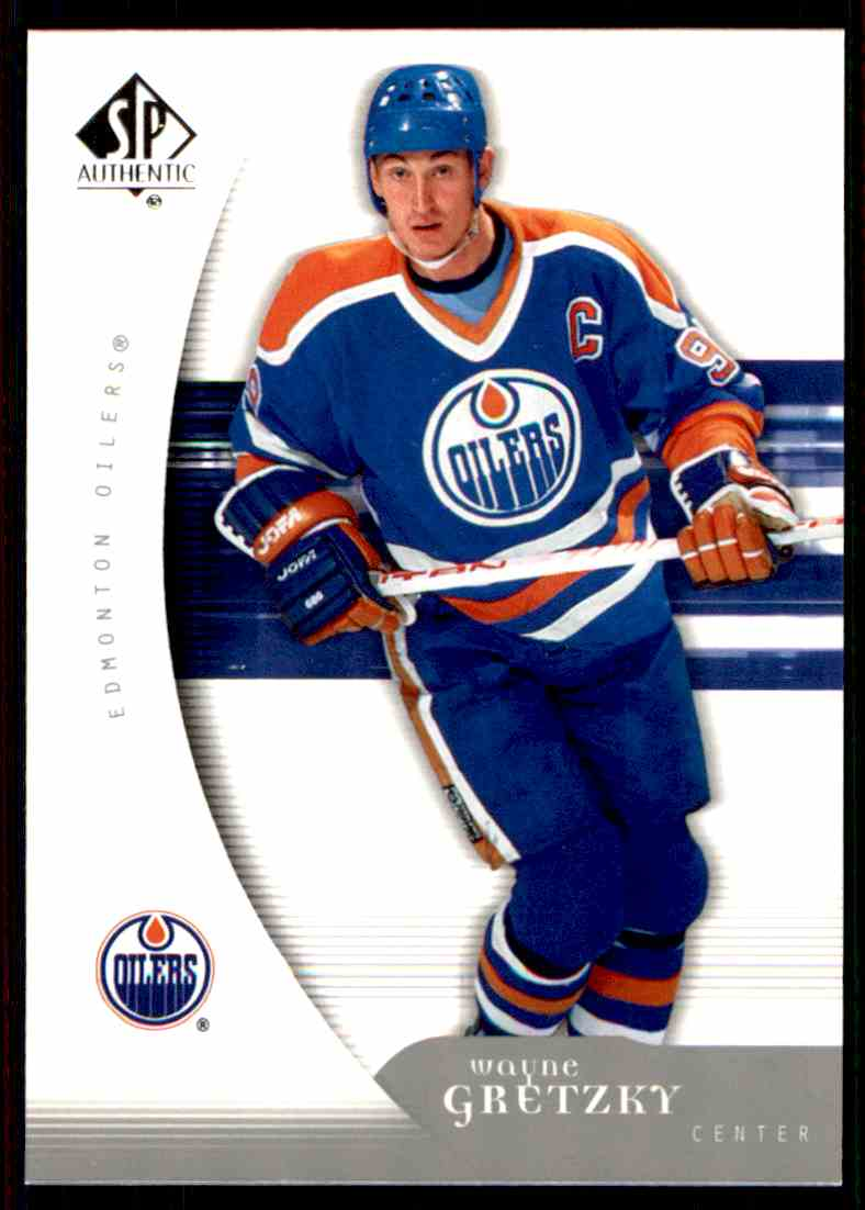 2005-06 SP Authentic Wayne Gretzky #42 card front image