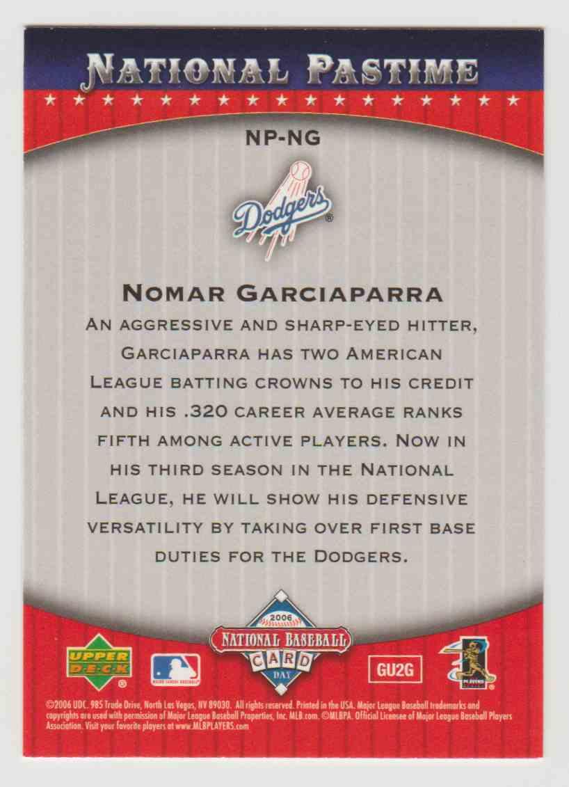 2006 Topps National Pastime National Baseball Card Day Nomar