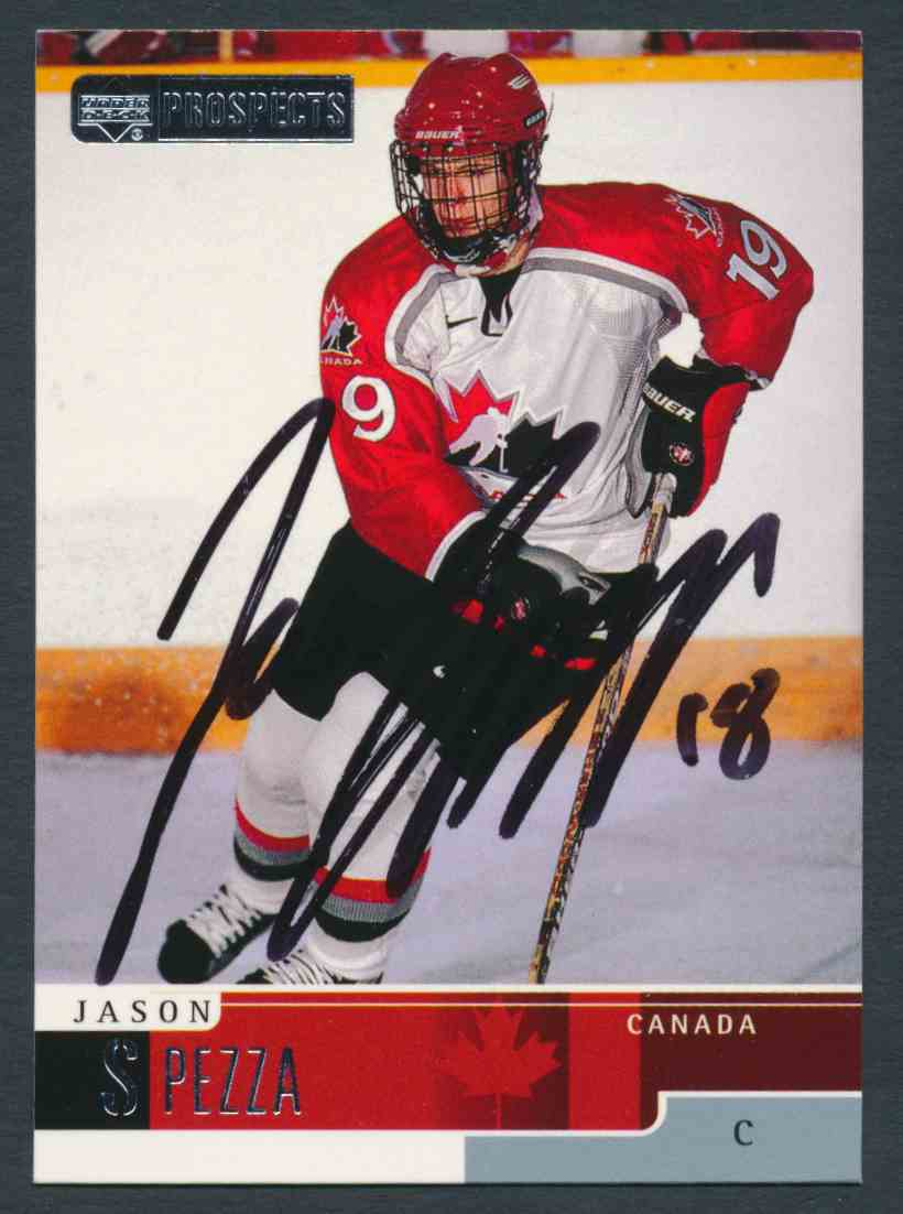 1999-00 Upper Deck Jason Spezza #81 card front image