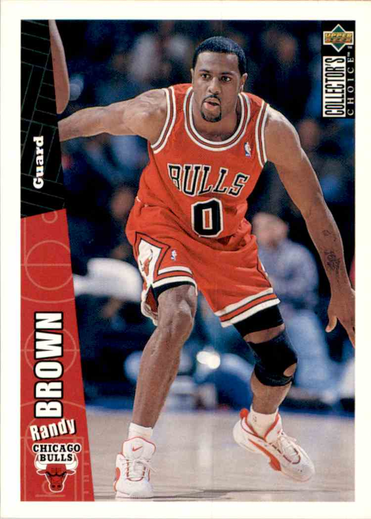 1996-97 Collector's Choice Randy Brown #218 card front image