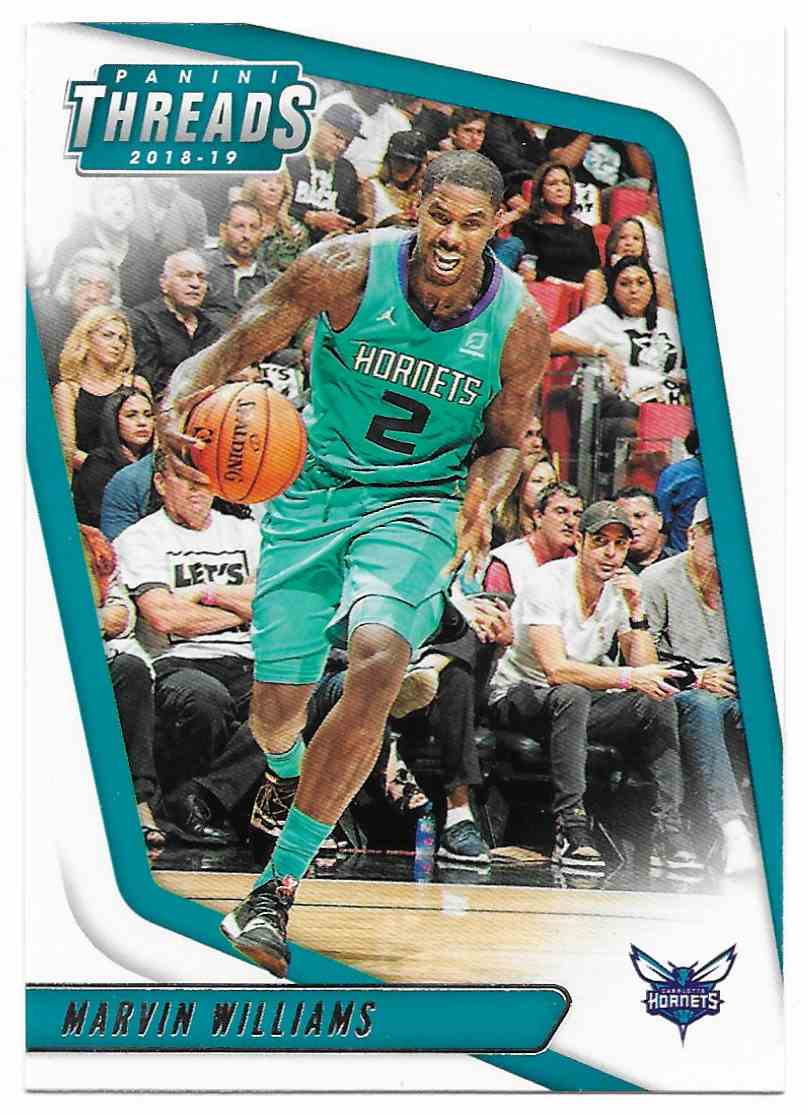 2018-19 Panini Threads Marvin Williams #35 card front image
