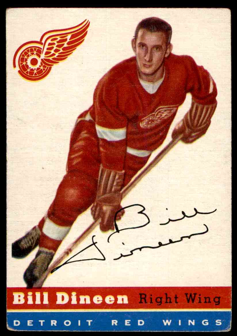 1954-55 Topps Bill Dineen #57 card front image