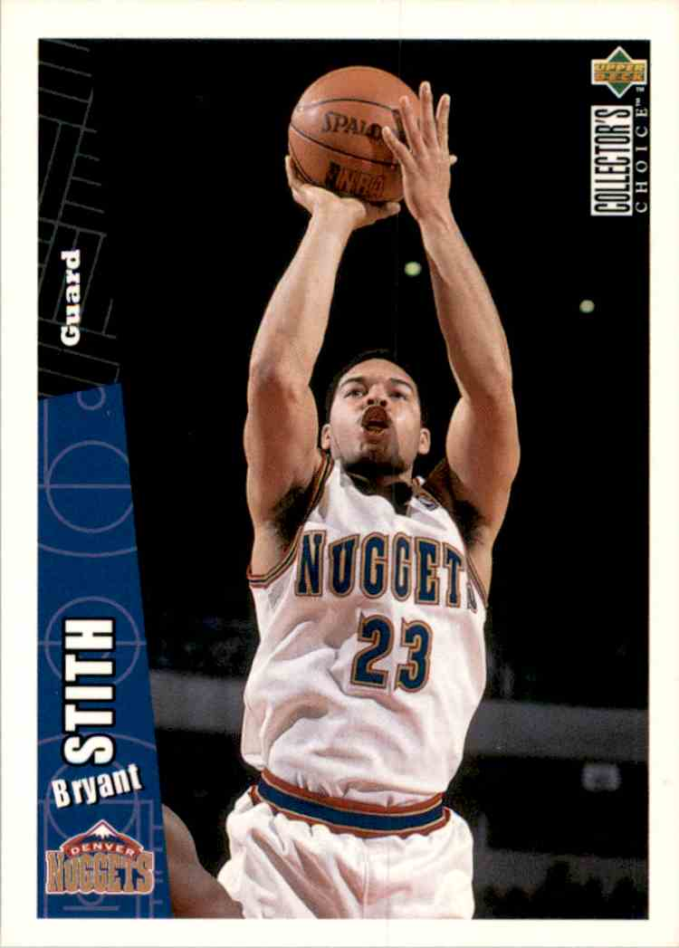 1996-97 Collector's Choice Bryant Stith #238 card front image