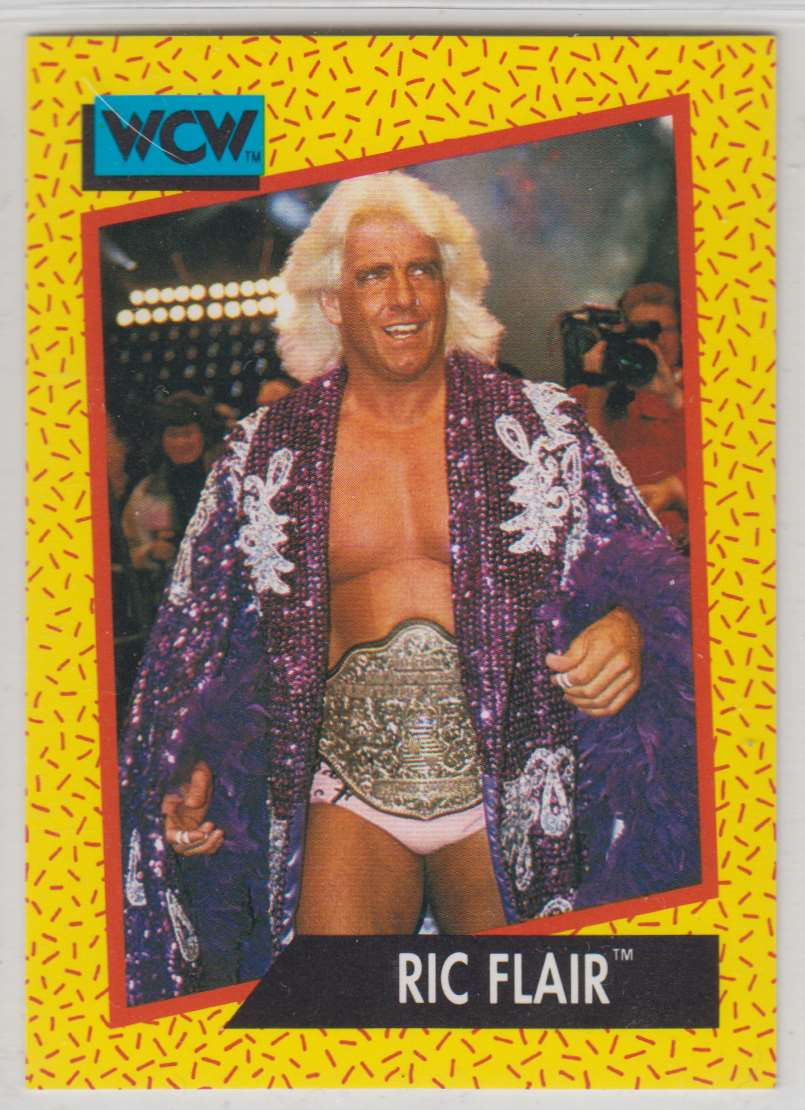 1991 Impel Wcw Ric Flair #44 card front image