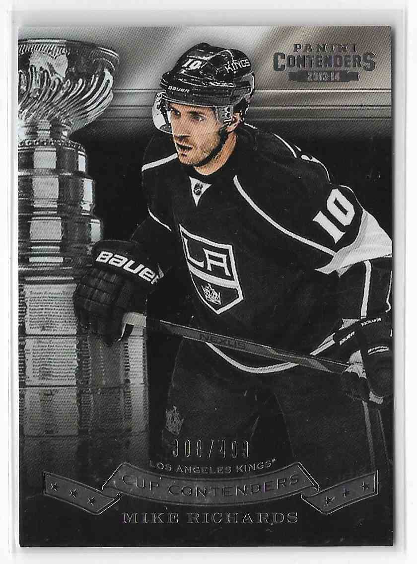 2013-14 Panini Contenders Mike Richards #CC-24 card front image