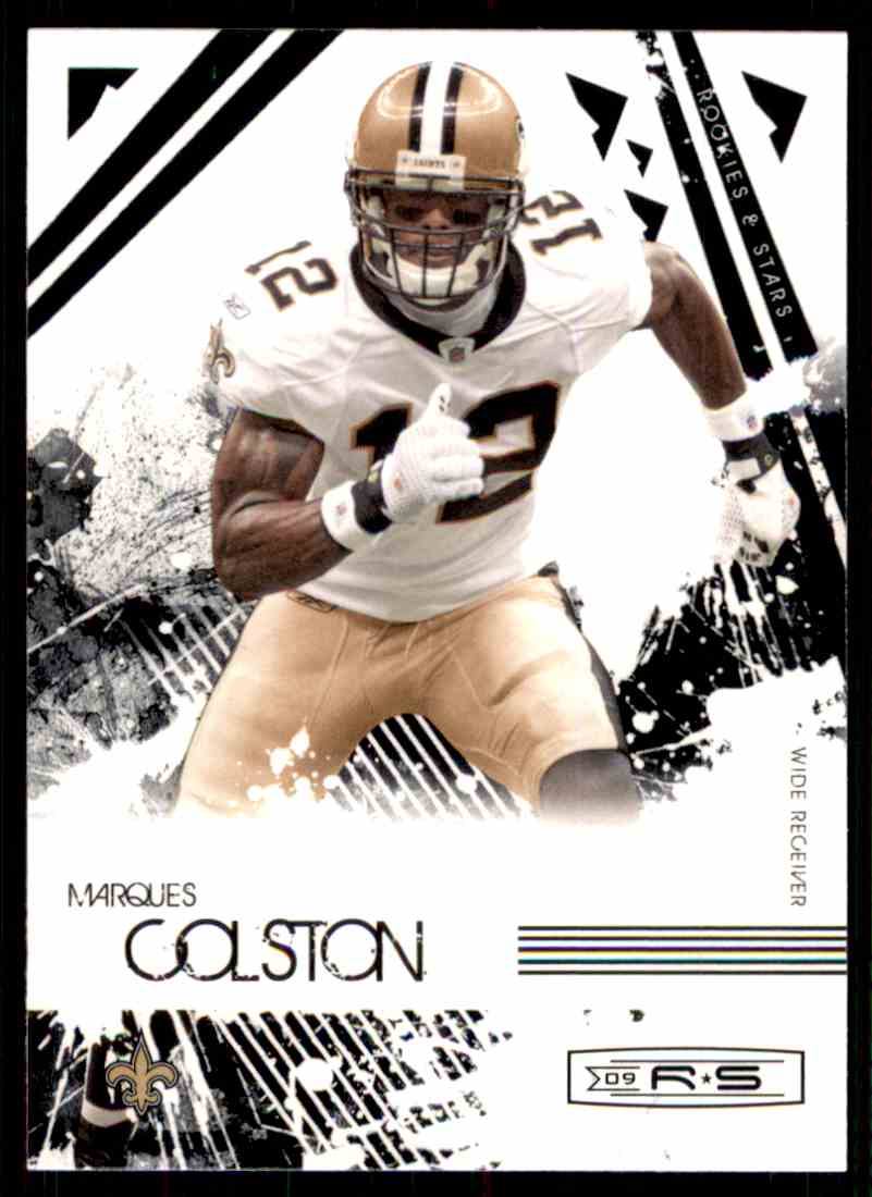 2009 Rookies & Stars Marques Colston #62 card front image