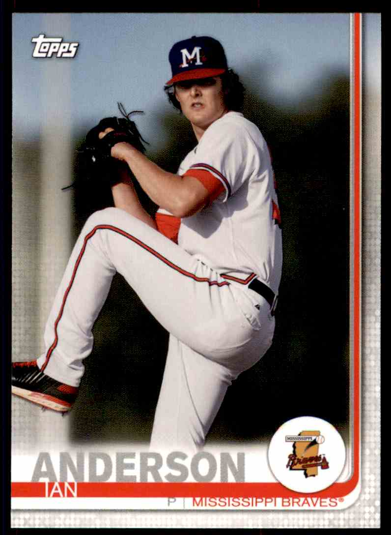 2019 Topps Pro Debut Ian Anderson #49 card front image