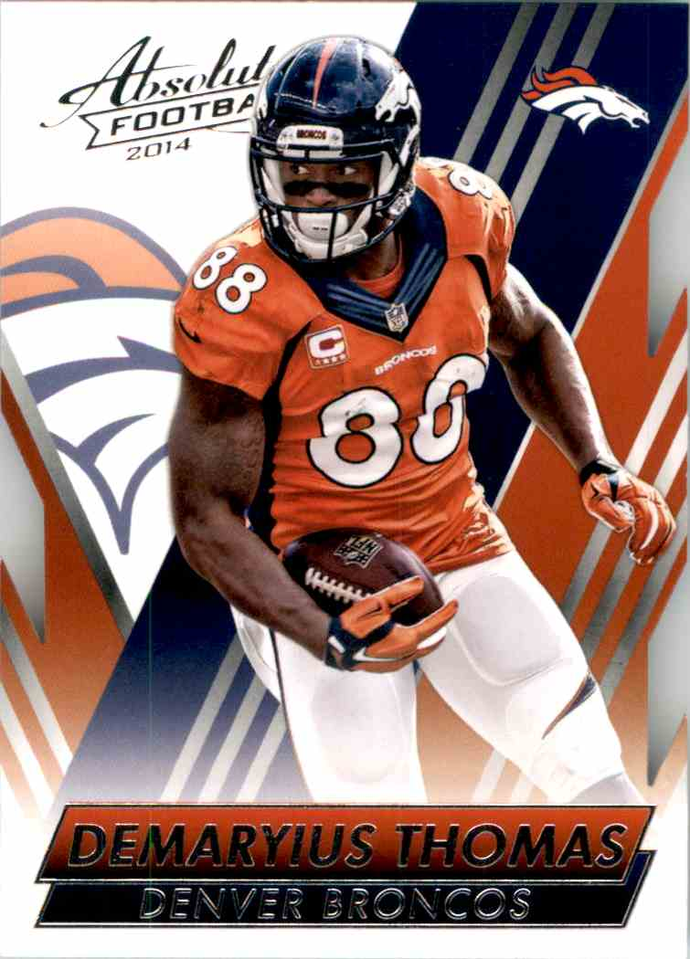 2014 Absolute Retail Demaryius Thomas #1 card front image