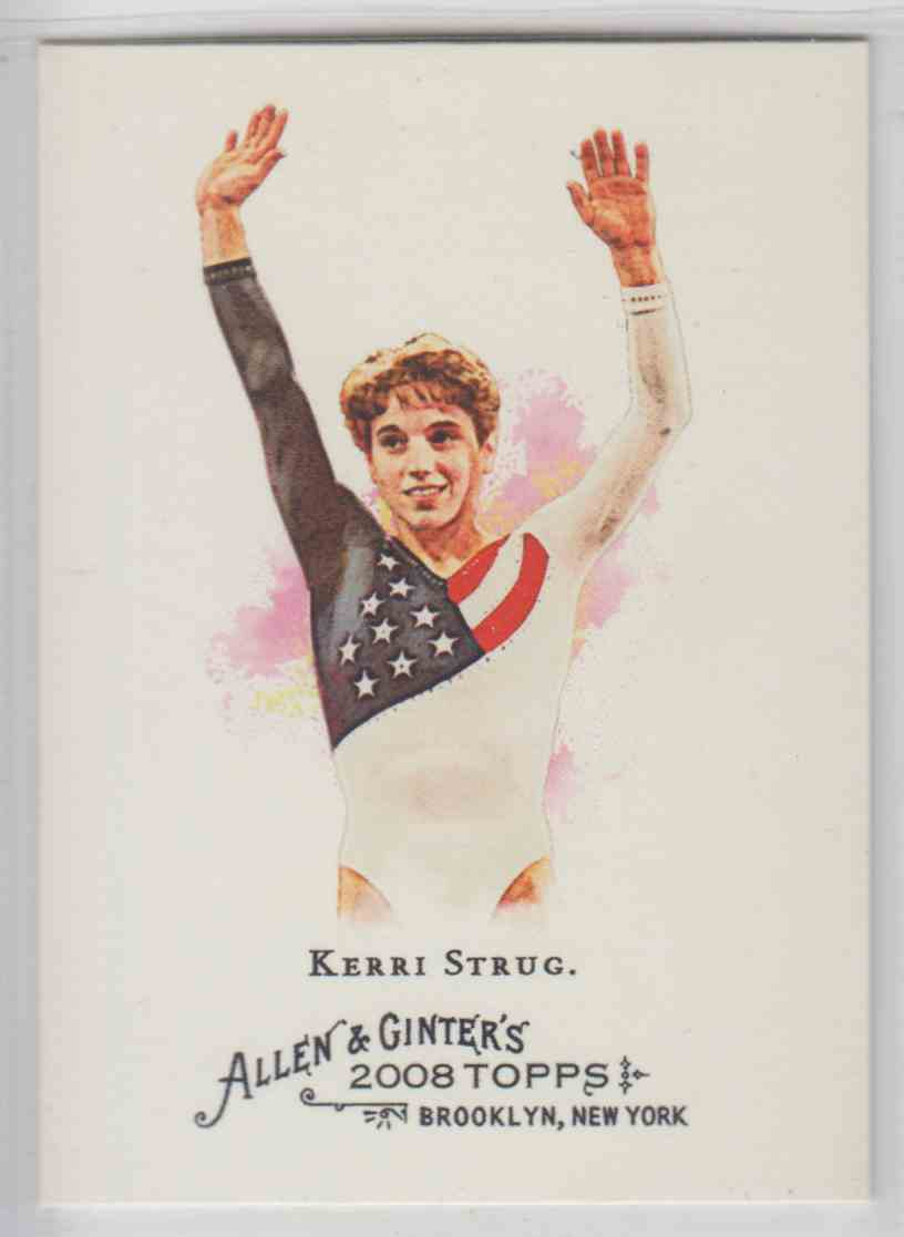 2008 Topps Allen And Ginter Kerri Strug #103 card front image