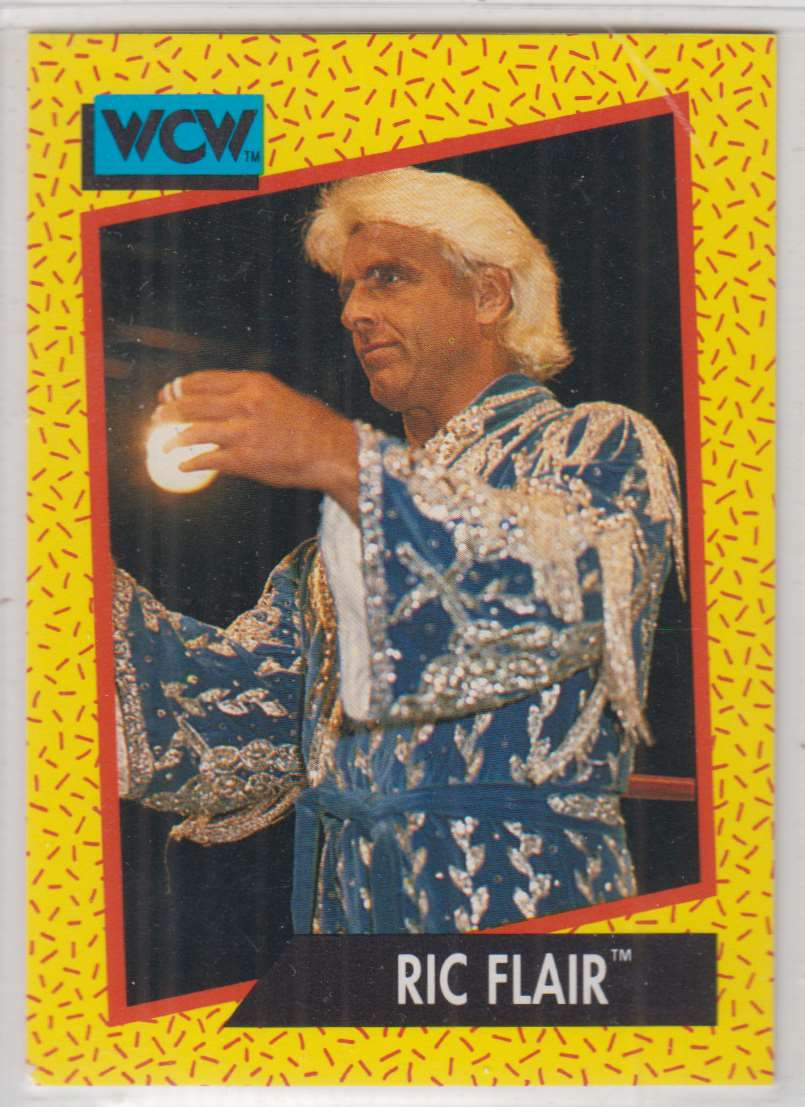 1991 Impel Wcw Ric Flair #36 card front image