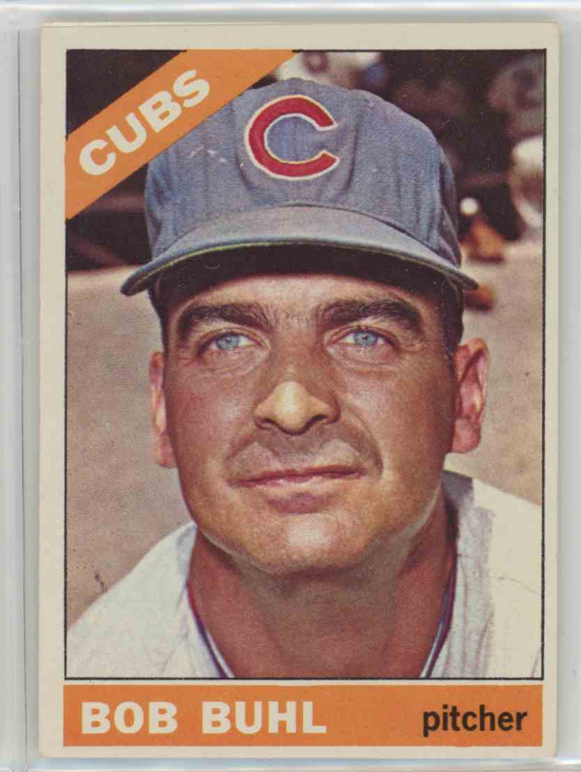 1966 Topps Bob Buhl #185 card front image