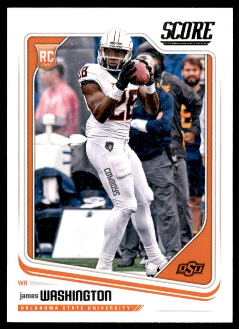 2018 Score James Washington #383 card front image