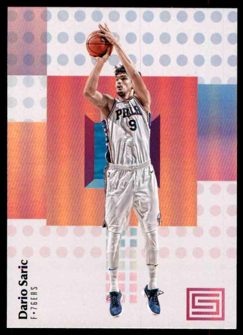 2017-18 Panini Status Dario Saric #89 card front image