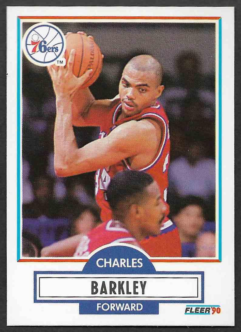 1990-91 Fleer Charles Barkley #139 card front image