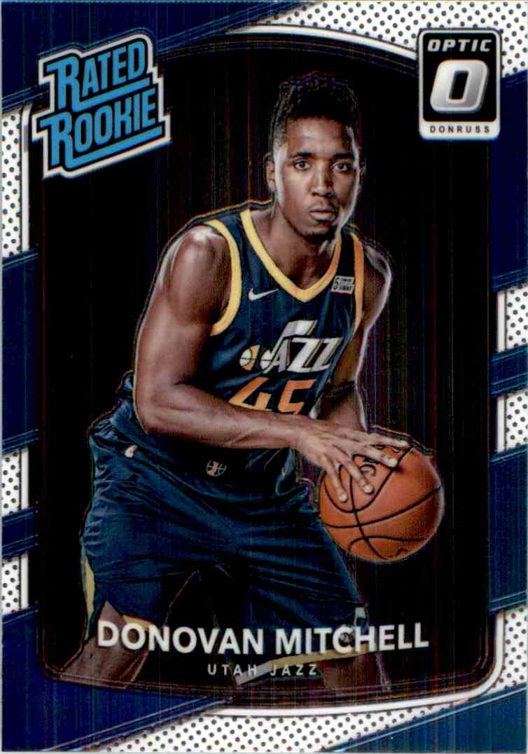 2017-18 Donruss Optic Rated Rookie Donovan Mitchell #188 card front image