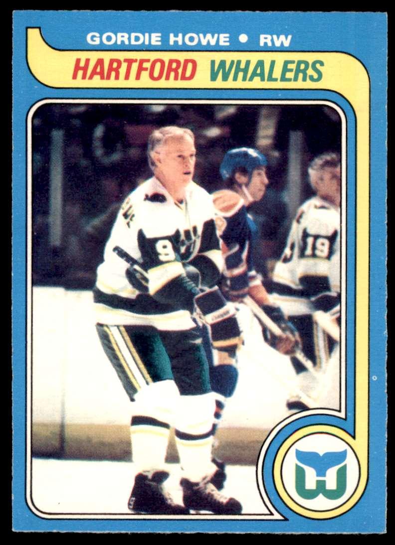 1979-80 OPC Gordie Howe #175 card front image