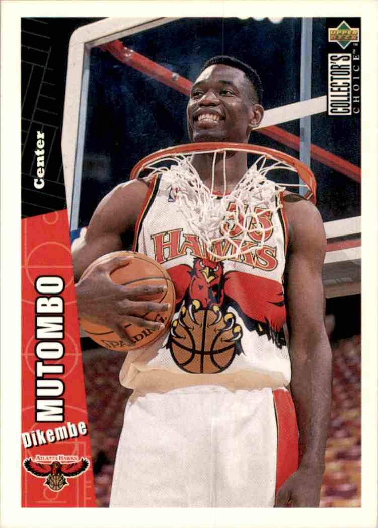 1996-97 Collector's Choice Dikembe Mutombo #205 card front image
