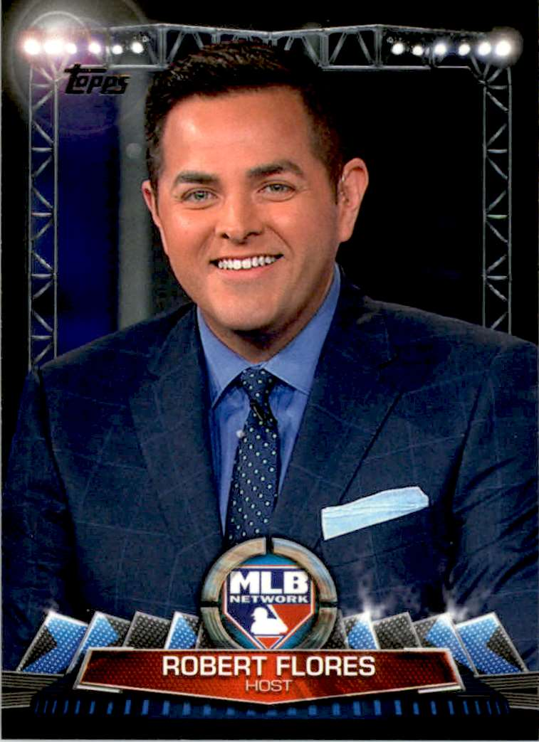2017 Topps MLB Network Robert Flores #MLBN-20 card front image