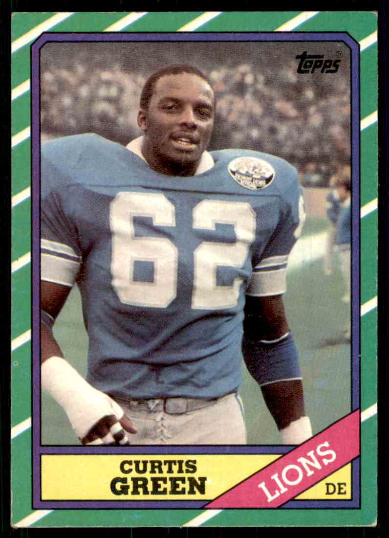 1986 Topps Curtis Green #250 card front image