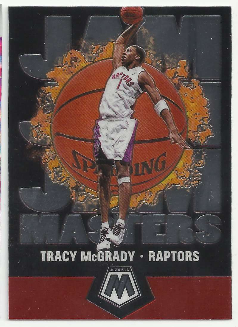 2019-20 Panini Mosaic Jam Masters Tracy McGrady #11 card front image