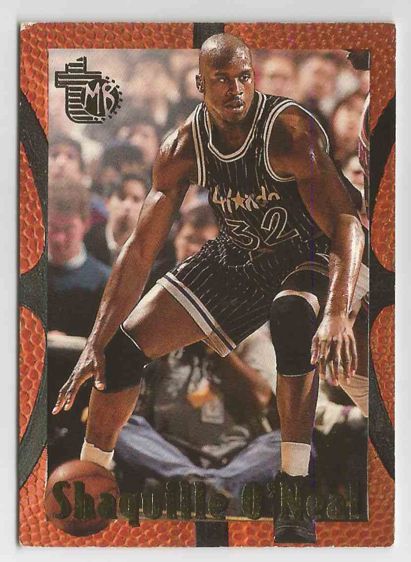 1995 96 Topps Embossed Shaquille O39neal Rookie Card