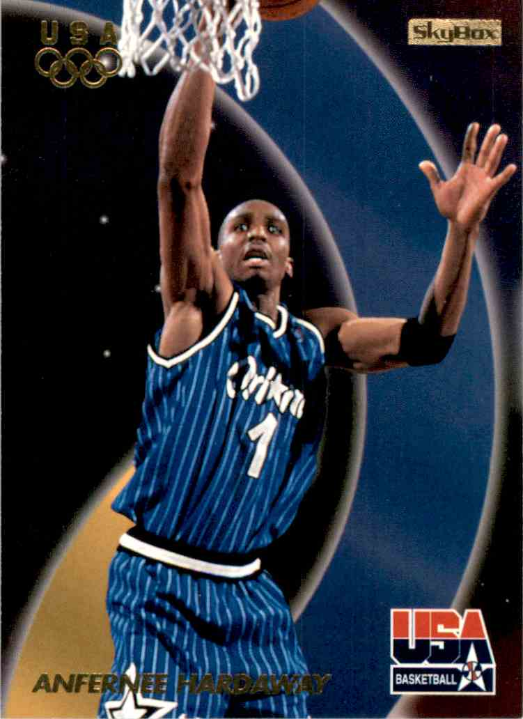 1996-97 SkyBox USA Anfernee Hardaway Gs #1 card front image