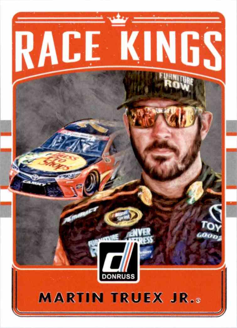 2017 Panini Donruss Racing Martin Truex JR. #16 card front image