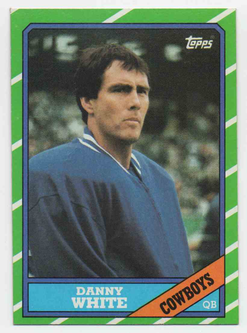 1986 Topps Danny White #125 card front image