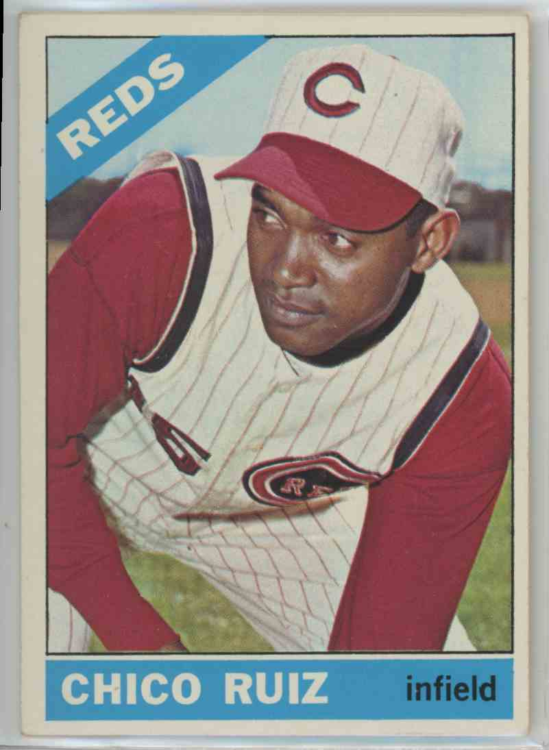 1966 Topps Chico Ruiz #159 card front image
