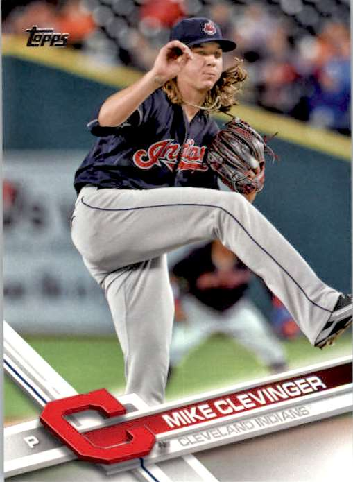 2017 Topps Series 2 Mike Clevinger #688 card front image