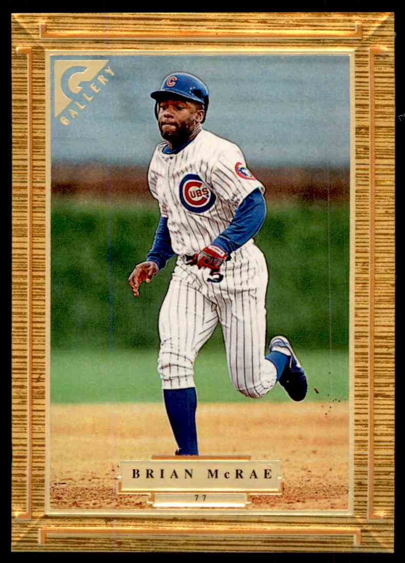 1997 Topps Gallery Brian Mcrae 77 On Kronozio