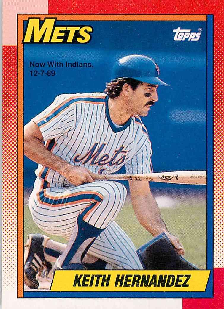 1990 Topps Keith Hernandez 230 On Kronozio